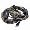 20м USB 2.0 удлинитель активный репитер