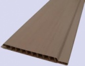 Вагонка пластикова коричнева (0,10*6м)