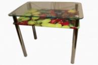 Стол обеденный «Дерк», прозрачный/рис. 36
