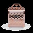 Кейс для косметики INGLOT Diamond міні рожево-золотий