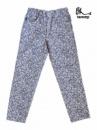Джинсы для девочек детские и подростковые модные «Разводы», бренд «Tammy»