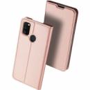 Чехол-книжка Dux Ducis с карманом для визиток для Samsung Galaxy M30s Rose Gold