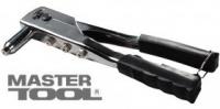 Пистолет для заклепок хромированный Ø 2,4/3,2/4,0/4,8 мм MasterTool 21-0707