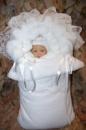 конверт на выписку для новорожденного зимний