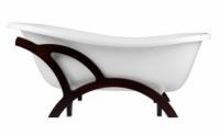Ванна отдельно стоящая OTYLIA Отилья 160х77х70 см BESCO PMD AMBITION на деревянной раме