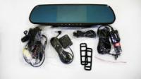 D25 Зеркало регистратор, 5« сенсор, 2 камеры, GPS навигатор, WiFI, 8Gb, Android
