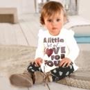 Детская туника и лосины на девочку «Сердечко»
