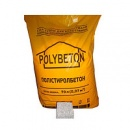 Заполнитель «POLYBETON», вспененные гранулы полистирола, мешок - 200л, плотн - 256кг/мкуб (для утепления кровель, полов,