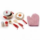 Игровой набор Viga Toys «Маленький Повар» Красный (50721)