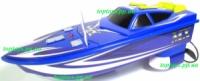 Катер спортивный на радиоуправлении лодка, корабль, длина 21 см, два винта