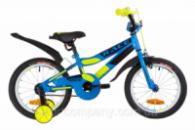 Велосипед 16« Formula RACE усилен. St с крылом Pl 2019 (голубой с зеленым (м))