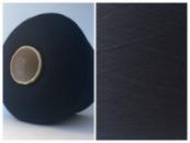 Пряжа Baxter, черный в синеву (80% меринос 20% РА, 1800м/100г)