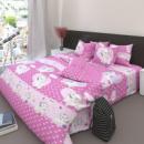 Комплект постельного белья Gold N-7559-pink 1.5