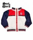 Куртка ветровка детская бомбер американка красная, бренд «Soul & Glory» (Англия)