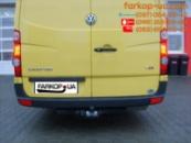 Фаркоп для Volkswagen Crafter (бампер без подножки) (2006-2016)