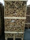 Дрова дубовые расколотые уложенные в контейнеры по 2складаметра\1,5мкуб