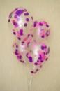 Прозрачные шары с конфетти №1