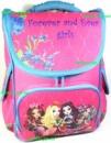Рюкзак каркасный ортопедический школьный для девочки Forever and Ever girls