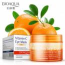 Патчи тканевые для кожи вокруг глаз с экстрактом апельсина  и зеленого чая BIOAQUA Vitamin C eye mask (патчи), 36 шт