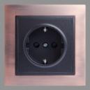 LXL «Tesla» графитовый металлик + античная медь/черная сталь (1333)