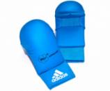 Перчатки без защиты пальца WKF Blue