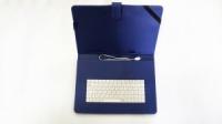 Чехол с клавиатурой для планшетов 10« дюймов (микро USB) Синий