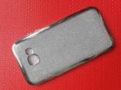 Силиконовый чехол с камушками для телефона Samsung A520