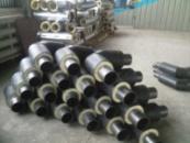 Отвод стальной для трубы 76/140 в ПЕ оболочке