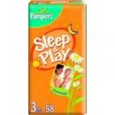 Памперсы Pampers Sleep & Play 3, ( 4-9кг) 58шт. Польша