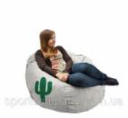 Кресло мешок Кактус серый
