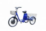 Электровелосипед трехколесный грузовой HAPPY 2018 + реверс