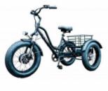 Электровелосипед трехколесный грузовой HAPPY FAT 500