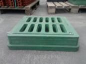 Дощоприймач прямокутний А15 з замком зелений