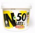Краска белоснежно матовая, латексная, интерьерная BeLife IN50, для работ на стенах и потолке, Расход: 175-200 г/ м.кв. в