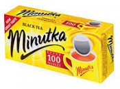 Чай в пакетиках Minutka 100шт