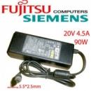 Блок питания для ноутбука Fujitsu Siemens 20V 4.5A 90W 5.5x2.5