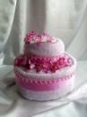 Торт из полотенец двухярусный №1