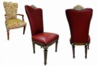 Перетяжка стульев, ремонт стульев и реставрация мебели Киев