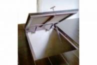 Потайной напольный люк под плитку тип Плита 60х60 см (600х600 мм)