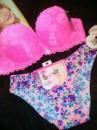 Нежный, дорогой комплект с бесшовными трусиками underwear