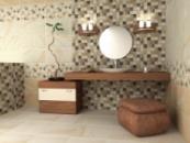Керамическая плитка для ванной Barcelona 31,6х60. Фотографии интерьера.
