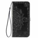 Кожаный чехол (книжка) Art Case с визитницей для Xiaomi Redmi 8 Черный