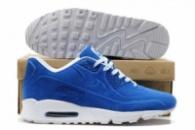 Кроссовки Nike Air Max 90 VT Tweed Голубые с белой подошвой 45