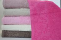Банные полотенца Sweet Dreams M7 70х140см, хлопок, набор 6 штук