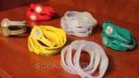 Энергетический силиконовый браслет Power Balance для активных людей без розничной упаковки разного цвета