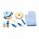 Игровой набор Viga Toys «Маленький Повар» Голубой (50115)