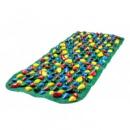 Килимок масажний з кольоровими каменями