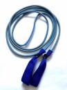 Эспандер для лыжника, боксера, пловца и фитнеса с ручками 8 мм, серый, 1 метр.