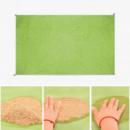 Пляжный коврик подстилка антипесок Sand-free Mat Салатовый