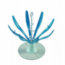 Сушка для бутылок Beaba Цветочек blue (911618)